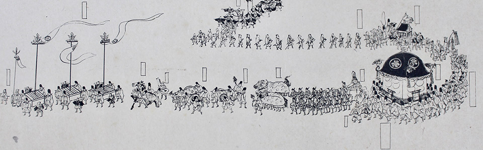 東照宮祭礼之図